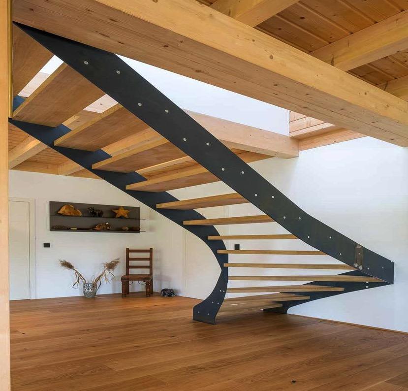 различными средствами фото лестниц с крутым подъемом если